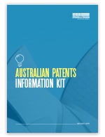 Australian Patents Information Kit
